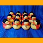 12 Halloween Count Duckula Rubber Ducks
