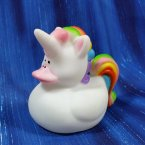 Rainbow Unicorn Rubber Duck