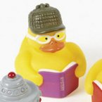 Reading Mystery Books Rubber Duck