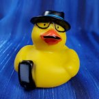 Secret Agent Geek Squad Rubber Duck Undercover Agent
