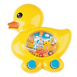 Plastic Duckie Shaped Blue Water Game