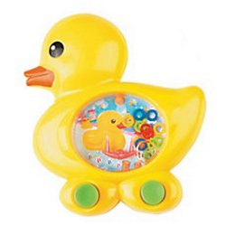Plastic Duckie Shaped Green Water Game