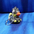 Batman Black Rubber Duck Key Chain