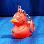 Spidey Hero Rubber Duck Key Chain