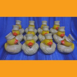 12 US Marine Rubber Duck - New Recruits
