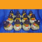 12 US Marine Drill Sergeant Rubber Ducks