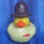 US Marine Drill Sergeant Rubber Duck