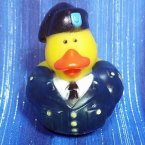 US Army Professional Navy Blue Uniform Rubber Duck