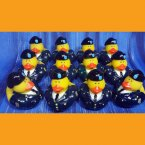 12 US Army Professional Navy Blue Uniform Rubber Ducks