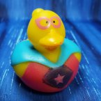 Super Hero Super Girl Rubber Duck