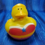 Super Hero Wonder Girl Rubber Duck