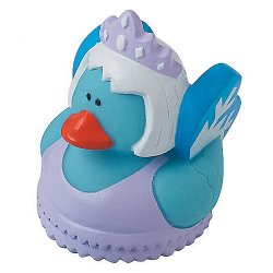 Winter Snow Fairy Elsa Frozen Rubber Duck