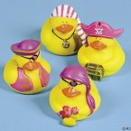 Lady Pirate Rubber Ducks