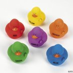 Crayon Rubber Ducks