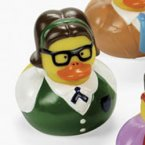 Retired Nerd Jenn Rubber Duck