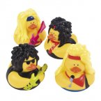 Big Hair Rubber Ducks