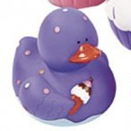 Purple Sweet Treats Rubber Duck