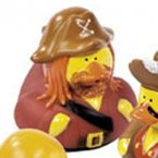 Medieval Pirate Rubber Duck - Jack