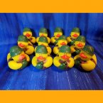 12 US Military Field Cookie Camouflage Rubber Ducks