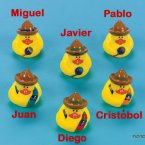 Fiesta Rubber Ducks