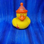 Party Rubber Duck in Orange