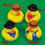 Old West Rubber Ducks