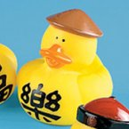 Chinese Happiness Rubber Duck