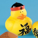 Chinese Luck Rubber Duck