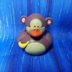 Monkey Rubber Duck