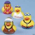 Lifeguard Rubber Ducks
