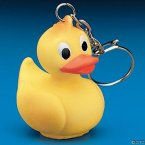Rubber Duck Key Chain