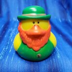 Irish Shamus O'Mallard Rubber Duck