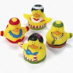 Hula Dancing Rubber Ducks
