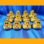 12 Aviator Captain Rubber Ducks