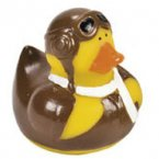 Aviator Rubber Duck - Goggles Up