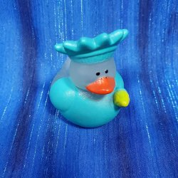 Patriotic Glow In the Dark Lady Liberty Rubber Duck
