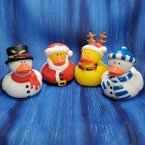 Christmas Rubber Duck Set