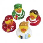 Retired Christmas Eve Rubber Ducks