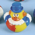 Patches Clown Carnival Rubber Duck