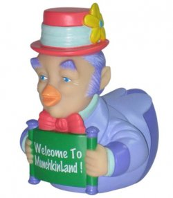 Retired CelebriDuck - The Wizard of Oz Munchkin