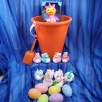 Unicorn Orange Gift Bucket