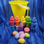 Crayon Gift Bucket - Yellow