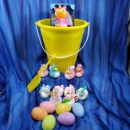 Unicorn Yellow Gift Bucket