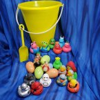 Spacemen and Aliens Yellow Gift Bucket