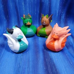 Dragon Rubber Ducks