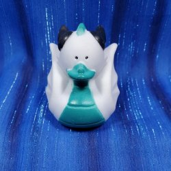 White Dragon Rubber Duck