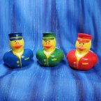 Train Conductor Rubber Ducks