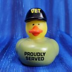 Proud Veteran Rubber Duck