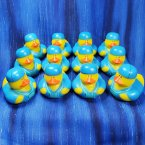 12 Doctor in Blue Scrubs Rubber Ducks