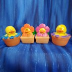 Spring Flowers Rubber Ducks